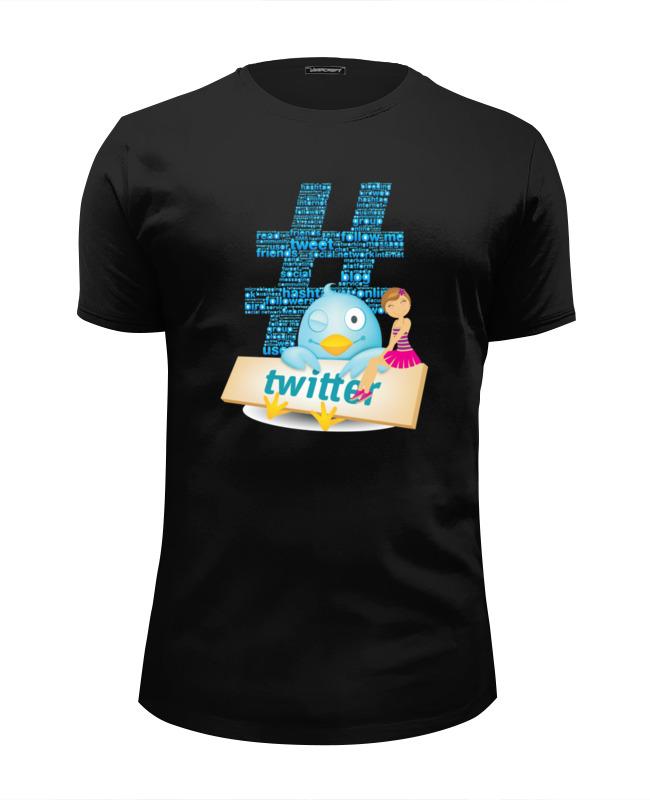 Футболка Wearcraft Premium Slim Fit Printio Твиттер