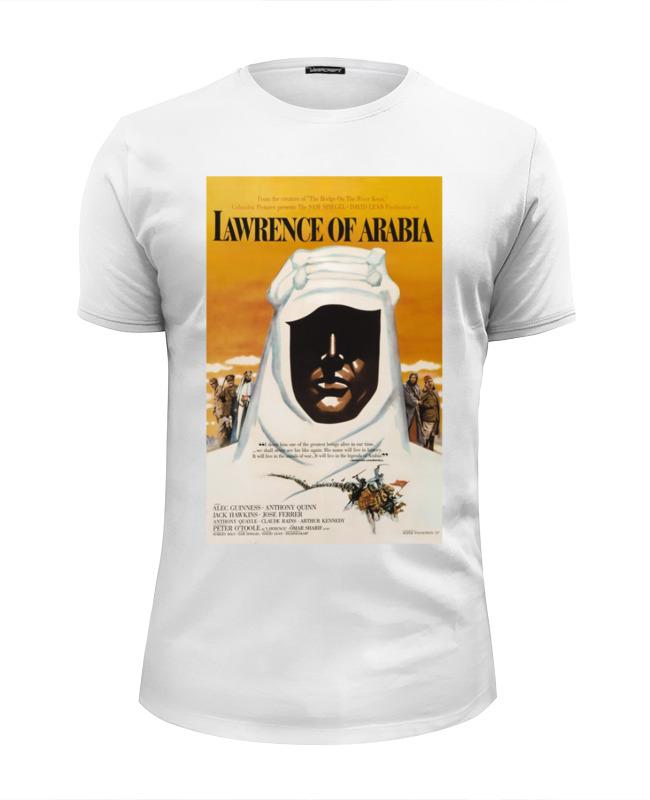 Футболка Wearcraft Premium Slim Fit Printio Лоуренс аравийский / lawrence of arabia детская футболка классическая унисекс printio лоуренс аравийский lawrence of arabia