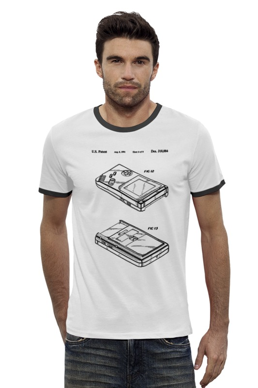 Футболка Wearcraft Premium Slim Fit Printio Gameboy футболка wearcraft premium slim fit printio верхом на облаке