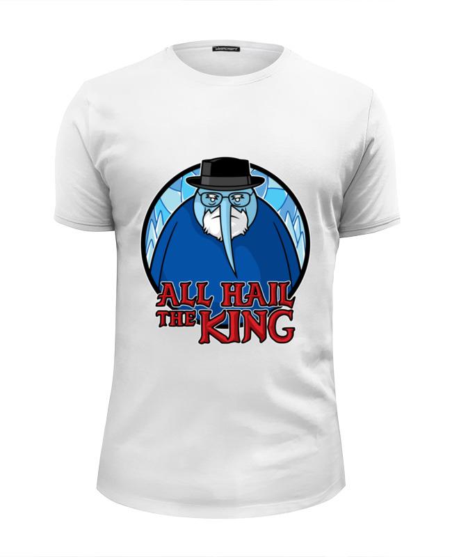 Футболка Wearcraft Premium Slim Fit Printio Хайзенберг (ледяной король) футболка wearcraft premium slim fit printio король севера