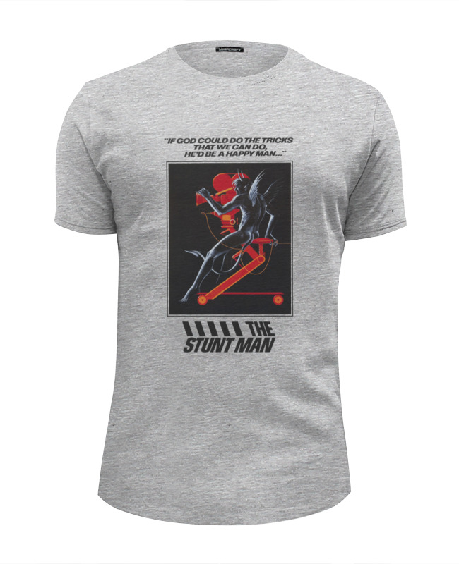 Футболка Wearcraft Premium Slim Fit Printio Stunt man футболка wearcraft premium slim fit printio spider man