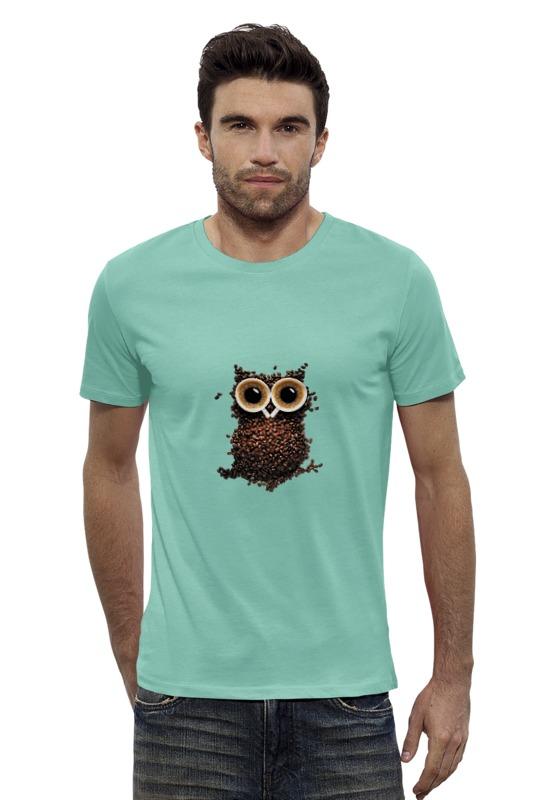 Футболка Wearcraft Premium Slim Fit Printio Кофейная сова футболка wearcraft premium slim fit printio ночная сова