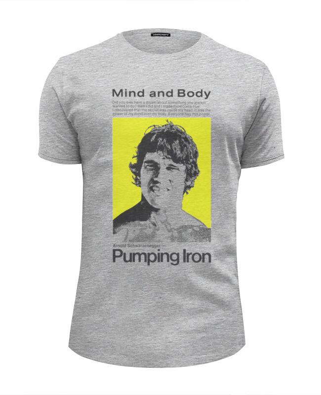 Футболка Wearcraft Premium Slim Fit Printio Pumping iron футболка wearcraft premium slim fit printio pumping iron