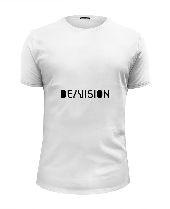 Футболка Wearcraft Premium Slim Fit Printio De/vision футболка wearcraft premium slim fit printio de vision 十三