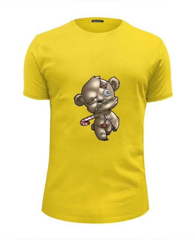 Футболка Wearcraft Premium Slim Fit Printio Мишка зомби футболка wearcraft premium slim fit printio совушка