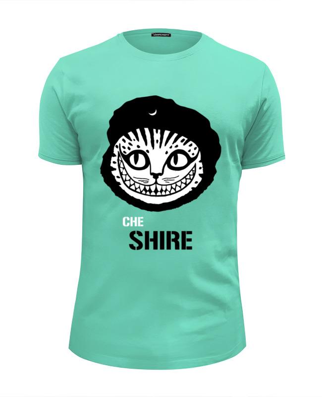 Фото - Футболка Wearcraft Premium Slim Fit Printio Чеширский кот футболка wearcraft premium slim fit printio чеширский кот