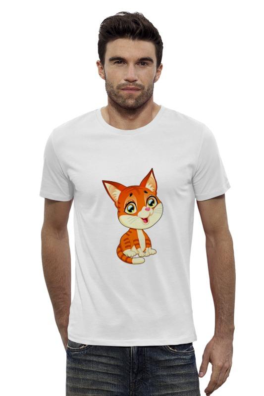 Футболка Wearcraft Premium Slim Fit Printio Котёнок погремушка котёнок