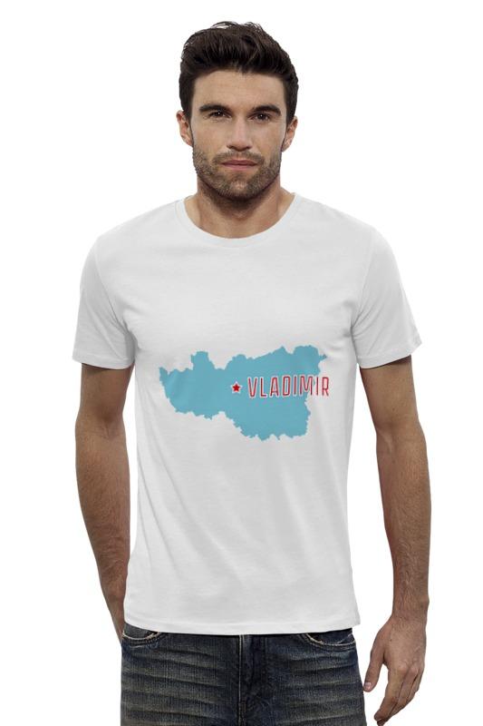 Футболка Wearcraft Premium Slim Fit Printio Владимирская область. владимир