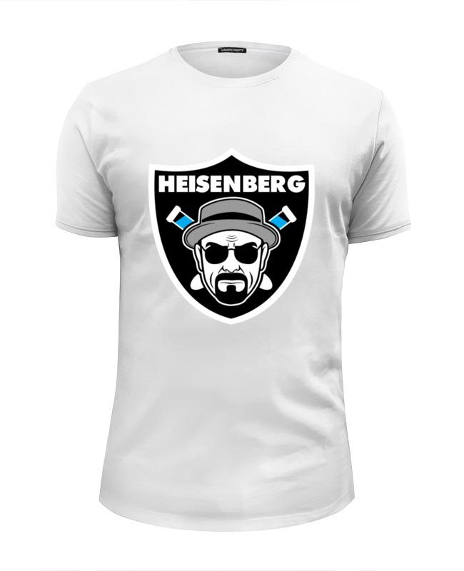 Футболка Wearcraft Premium Slim Fit Printio Heisenberg raiders футболка wearcraft premium slim fit printio heisenberg 8 bit