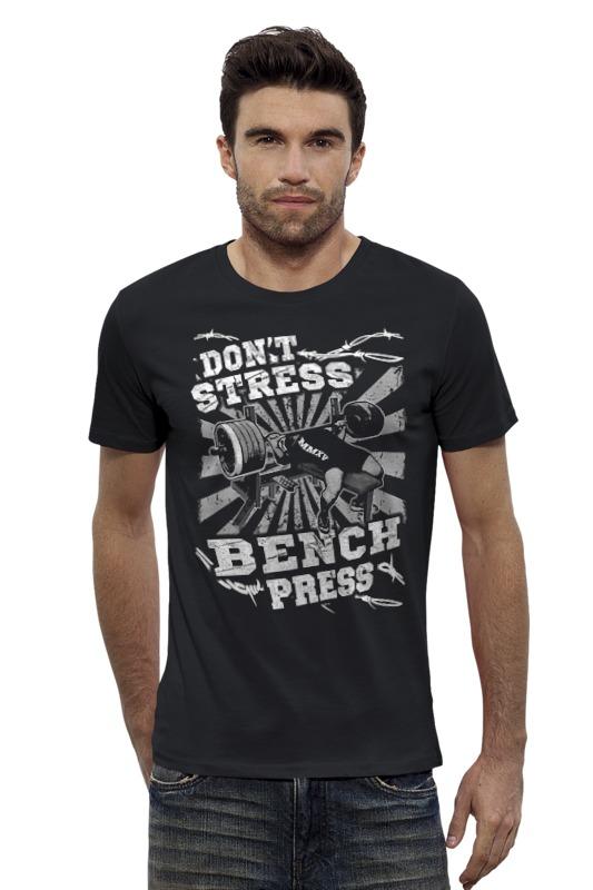 Футболка Wearcraft Premium Slim Fit Printio Bench press футболка bench футболка