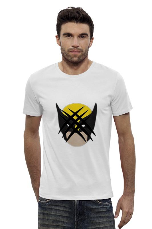 Футболка Wearcraft Premium Slim Fit Printio Росомаха (люди-икс) футболка wearcraft premium slim fit printio росомаха люди икс