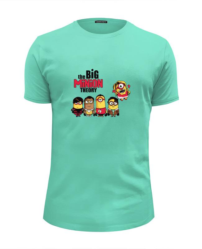 Футболка Wearcraft Premium Slim Fit Printio The big minion theory футболка wearcraft premium slim fit printio bazinga the big bang theory