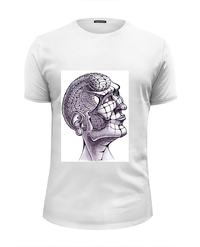 Футболка Wearcraft Premium Slim Fit Printio Head-brain футболка wearcraft premium slim fit printio office kills my brain
