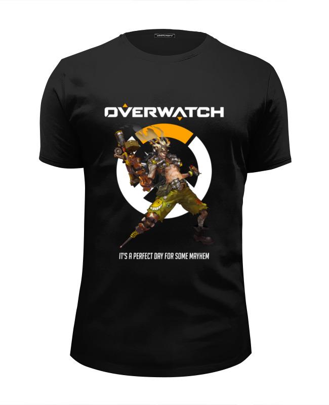 Футболка Wearcraft Premium Slim Fit Printio Overwatch. крысавчик