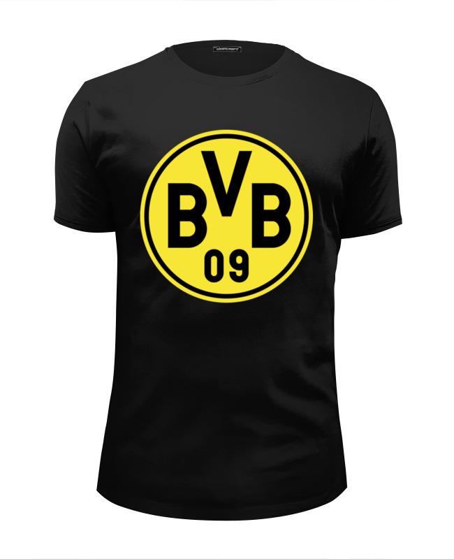 Футболка Wearcraft Premium Slim Fit Printio Боруссия дортмунд yung hurn dortmund