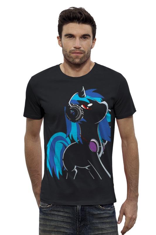 Футболка Wearcraft Premium Slim Fit Printio My little pony: dj pon-3 (vinyl scratch)