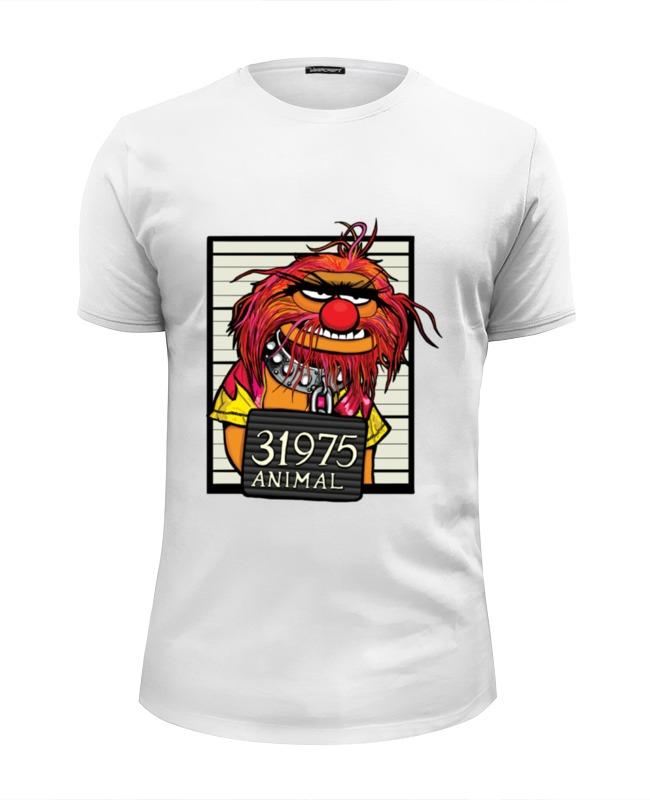 Футболка Wearcraft Premium Slim Fit Printio Animal animal футболка animal outdoors f94 s