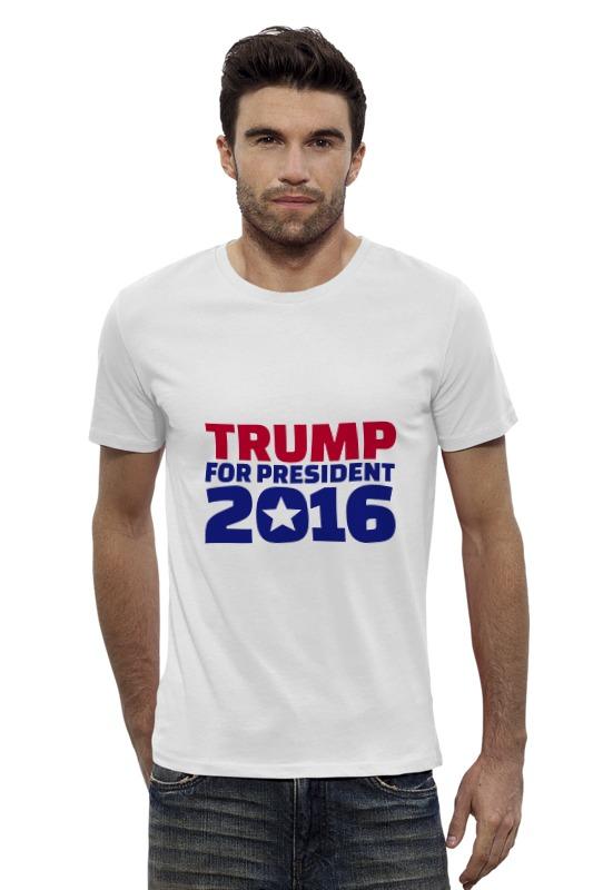 Футболка Wearcraft Premium Slim Fit Printio Trump for president пленка тонировочная president 5% 0 5м х 3м