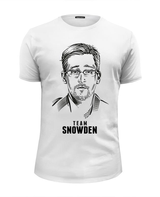 Футболка Wearcraft Premium Slim Fit Printio Edward snowden футболка wearcraft premium slim fit printio edward snowden