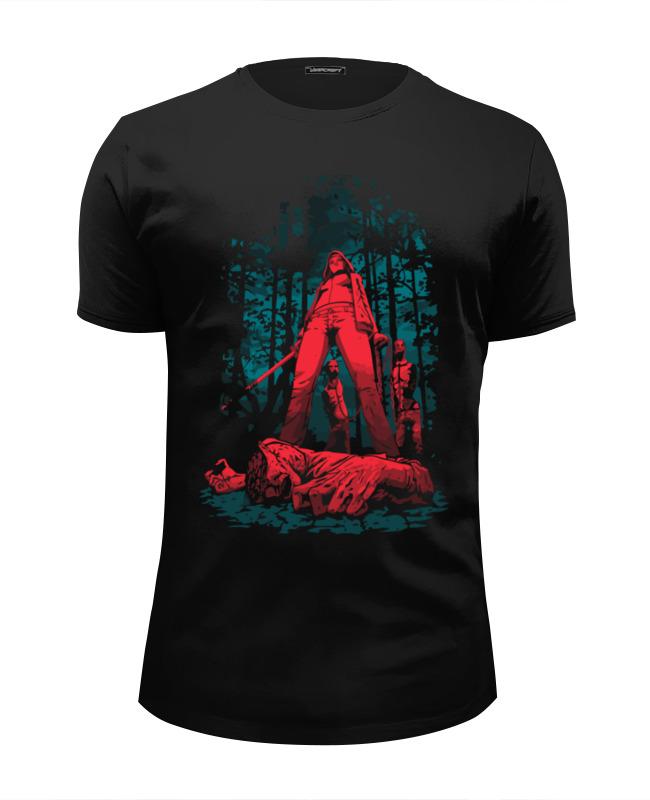 Футболка Wearcraft Premium Slim Fit Printio Охотник на зомби футболка wearcraft premium slim fit printio пати на хате