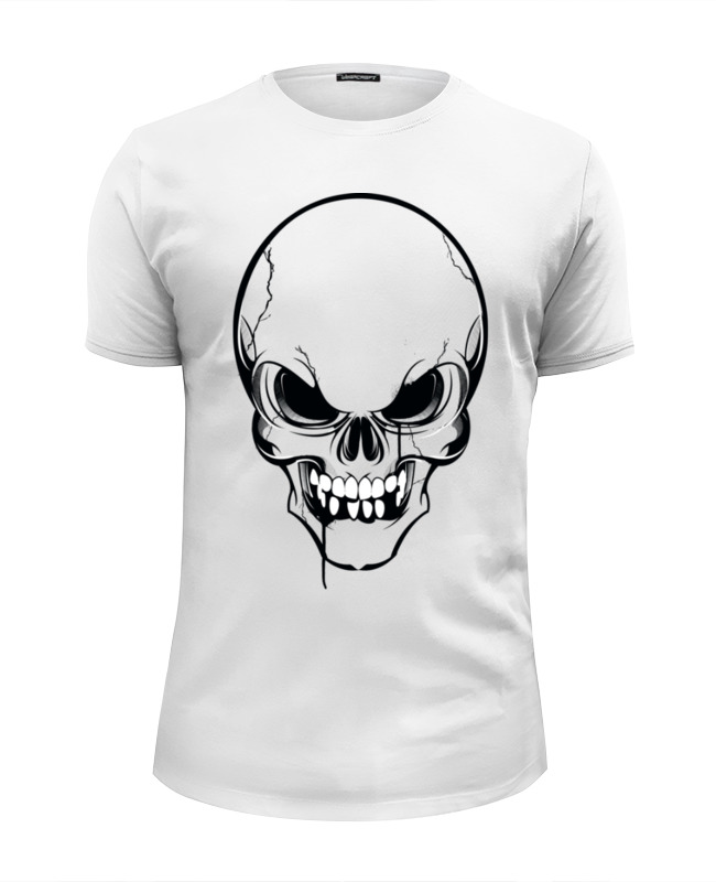 Футболка Wearcraft Premium Slim Fit Printio Череп №3 футболка wearcraft premium slim fit printio тибетская vajrabhairava page 3
