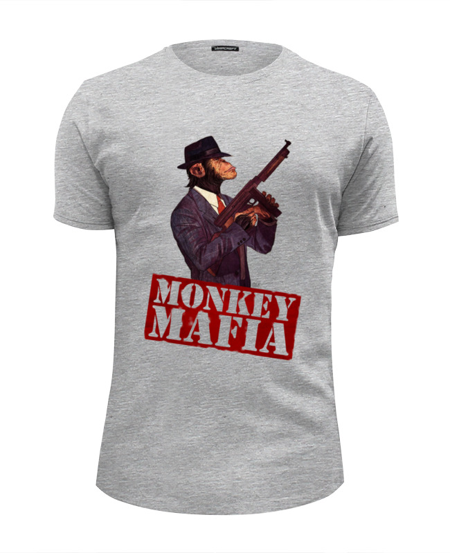 Футболка Wearcraft Premium Slim Fit Printio Monkey mafia футболка классическая printio monkey mafia
