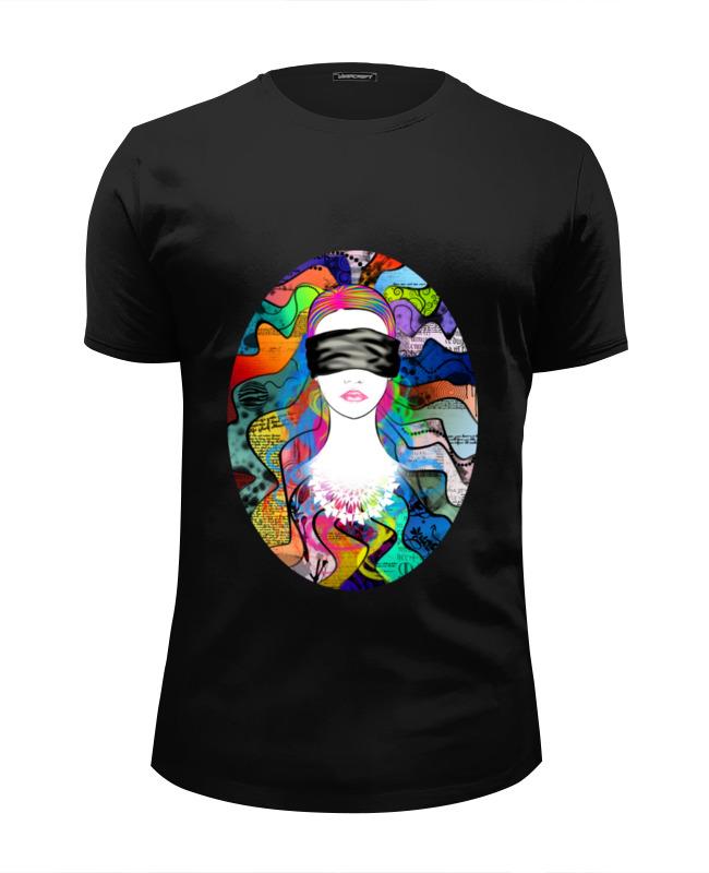 Футболка Wearcraft Premium Slim Fit Printio Strange girl футболка wearcraft premium printio strange times goon tothestars