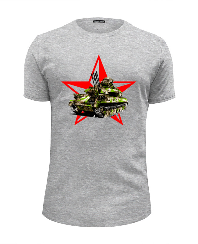 Футболка Wearcraft Premium Slim Fit Printio Зсу-23-4 шилка футболка wearcraft premium slim fit printio тибетская vajrabhairava page 4