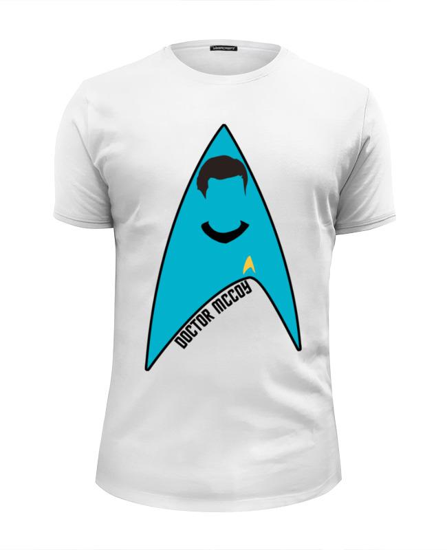 Футболка Wearcraft Premium Slim Fit Printio Звёздный путь (star trek) футболка wearcraft premium slim fit printio футболка звёздный человек