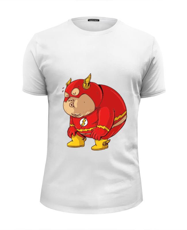 Футболка Wearcraft Premium Slim Fit Printio Fat flash футболка wearcraft premium printio fat flash