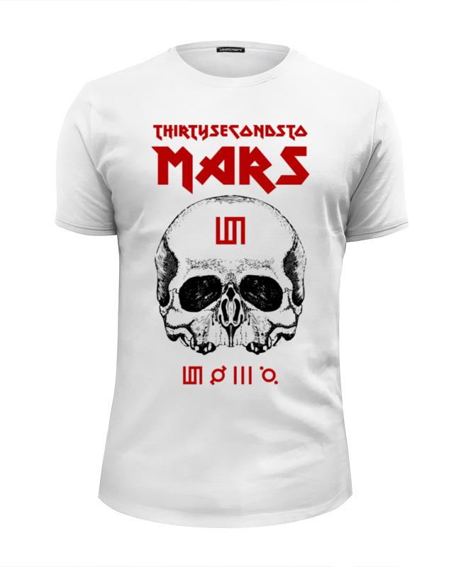 Футболка Wearcraft Premium Slim Fit Printio 30 seconds to mars толстовка wearcraft premium унисекс printio 30 seconds to mars