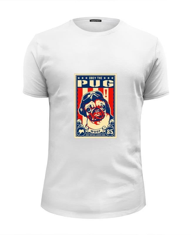 Printio Собака: pug футболка wearcraft premium printio собака pug