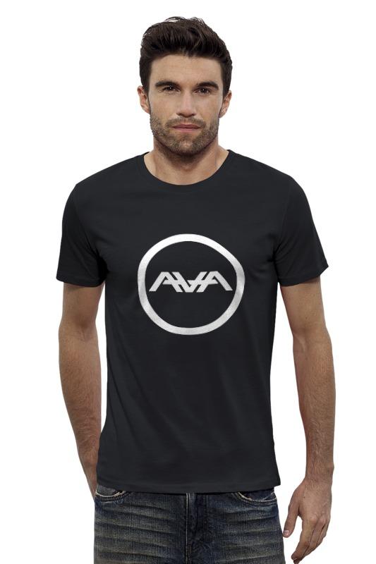 Футболка Wearcraft Premium Slim Fit Printio Angels and airwaves circle logo