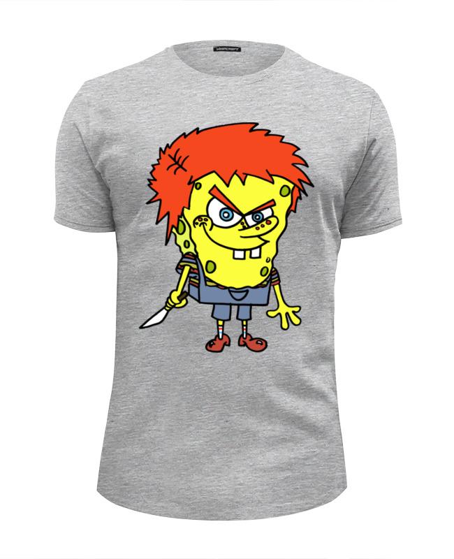 Футболка Wearcraft Premium Slim Fit Printio Chucky killer футболка классическая printio chucky killer