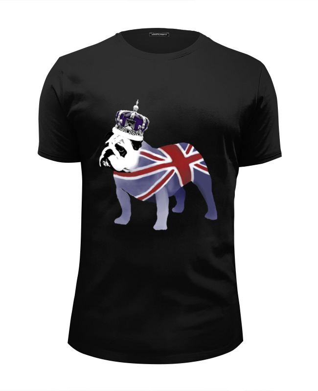 цена Футболка Wearcraft Premium Slim Fit Printio English bulldog