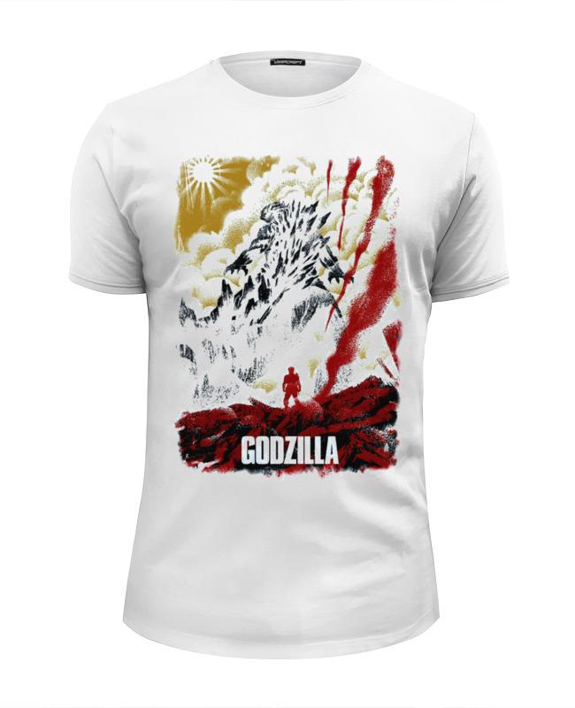 Футболка Wearcraft Premium Slim Fit Printio Godzilla japan
