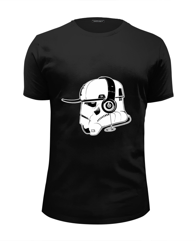 Printio Music trooper футболка wearcraft premium slim fit printio trooper