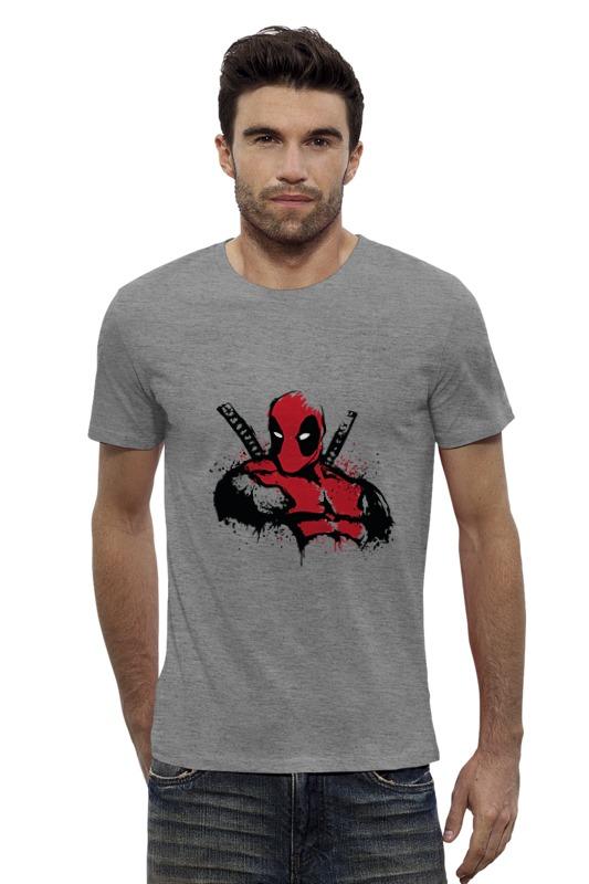 Футболка Wearcraft Premium Slim Fit Printio Deadpool футболка wearcraft premium slim fit printio avengers