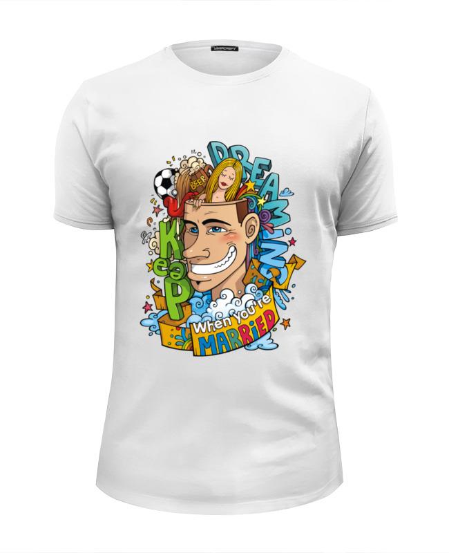 Футболка Wearcraft Premium Slim Fit Printio You're married! hello! футболка wearcraft premium slim fit printio hello liberty