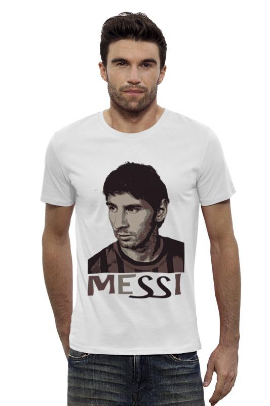 Футболка Wearcraft Premium Slim Fit Printio Messi футболка классическая printio messi