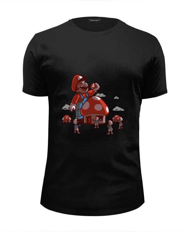 Футболка Wearcraft Premium Slim Fit Printio Марио футболка wearcraft premium slim fit printio тону