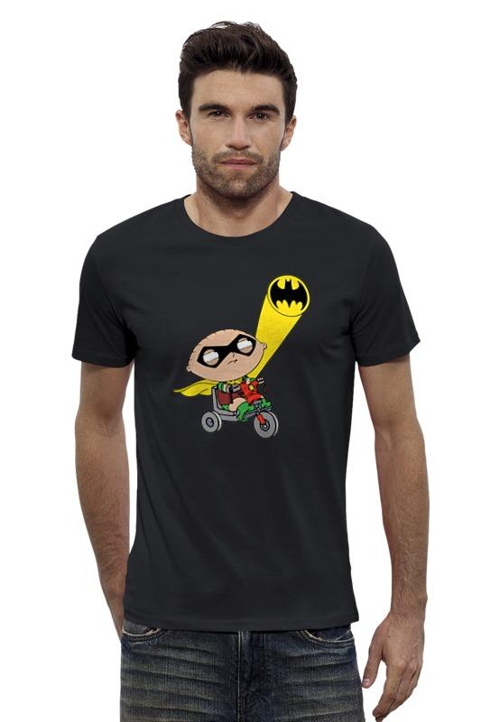 Футболка Wearcraft Premium Slim Fit Printio Бэтмен и робин (гриффины)
