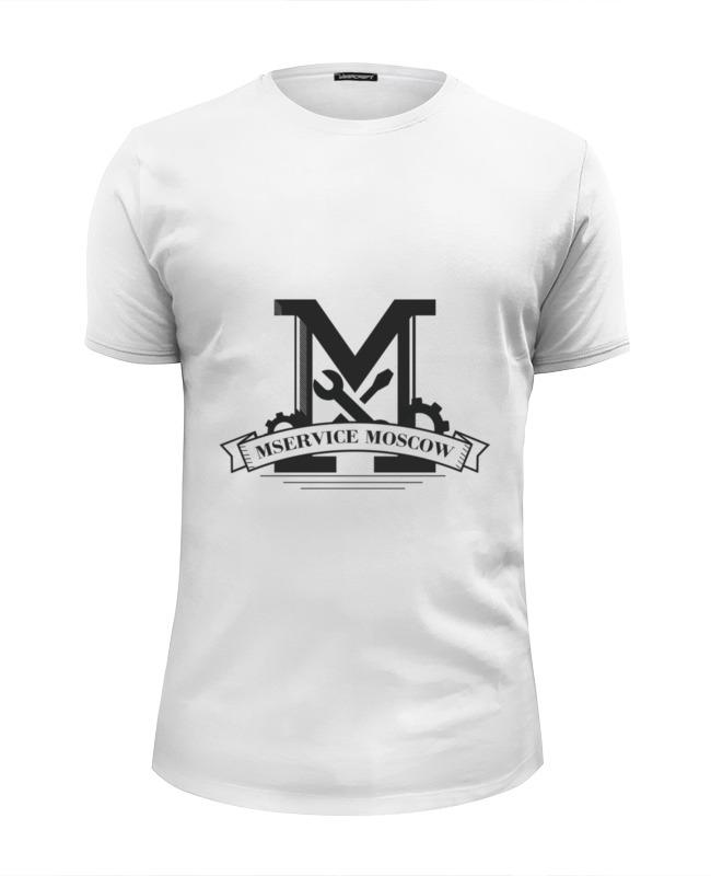 Футболка Wearcraft Premium Slim Fit Printio Толстовка mservice moscow футболка wearcraft premium slim fit printio moscow motoseason 2016