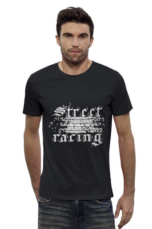 Футболка Wearcraft Premium Slim Fit Printio Street racing