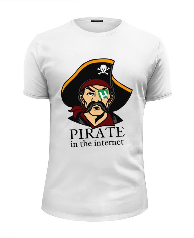 Футболка Wearcraft Premium Slim Fit Printio Интернет пират цена