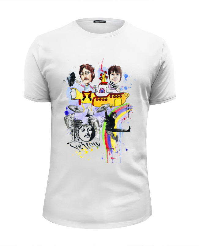 Футболка Wearcraft Premium Slim Fit Printio The beatles футболка wearcraft premium slim fit printio joy
