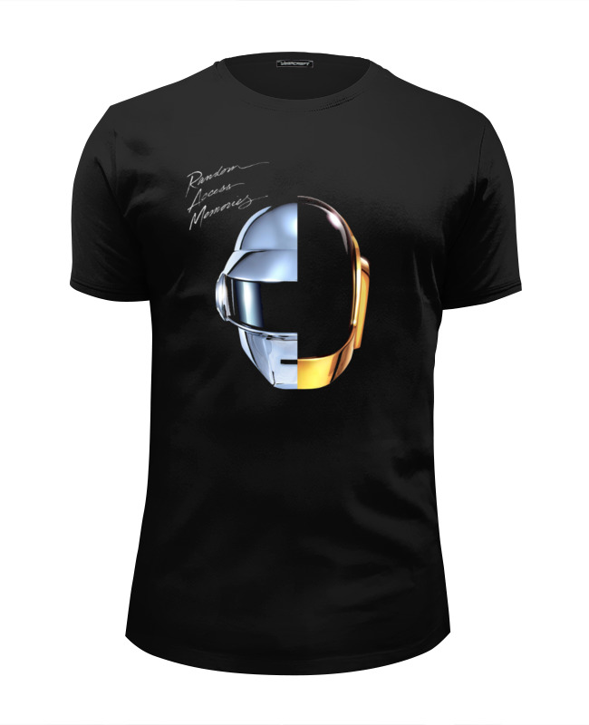 Футболка Wearcraft Premium Slim Fit Printio Daft punk - random access memories random kitchenware print mat 1pc