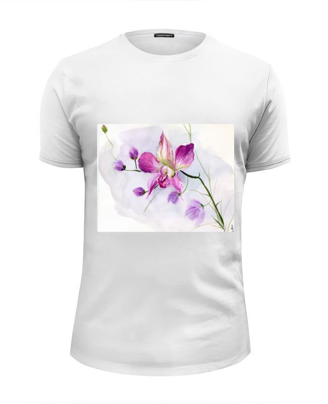 Printio Розовая орхидея футболка wearcraft premium printio летняя