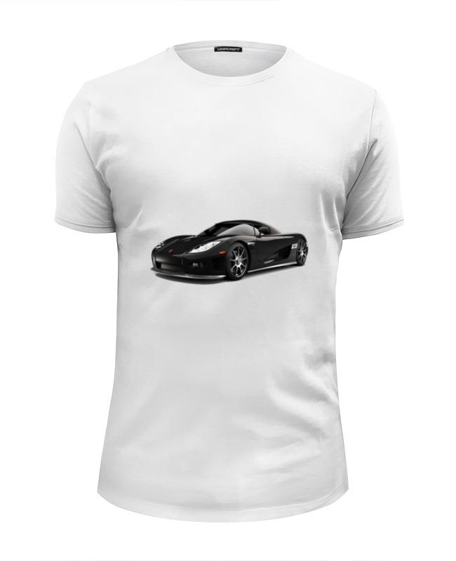 Футболка Wearcraft Premium Slim Fit Printio Тачка