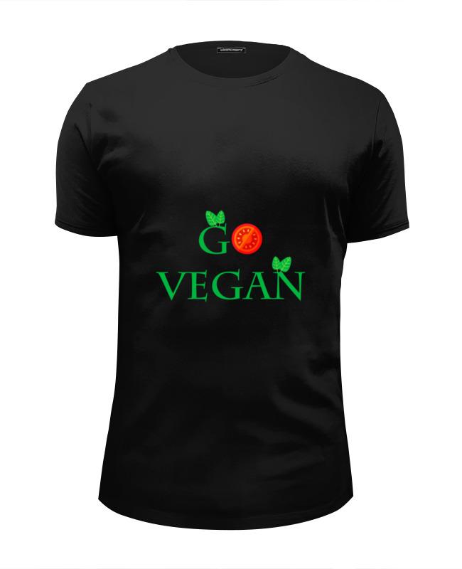 Футболка Wearcraft Premium Slim Fit Printio Go vegan футболка print bar hail seitan go vegan